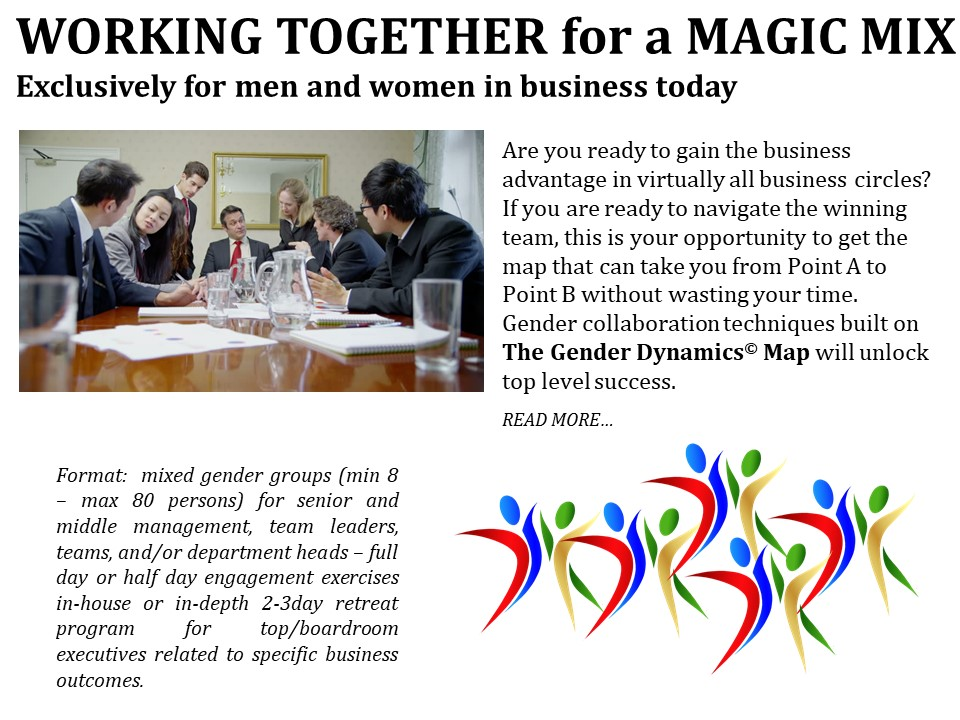 Women and Men in Business Course - Miss Magical Conversations